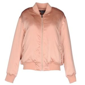 NEW Finders Keepers Pink Bomber Jacket